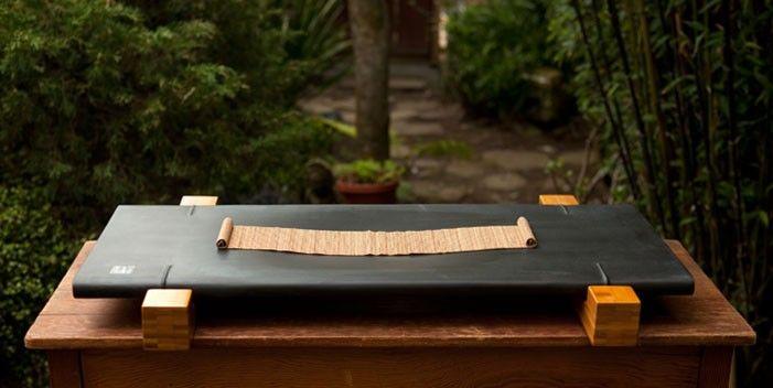 Ebony Bamboo Stone Tea Tray - Tea Tray - Teaware
