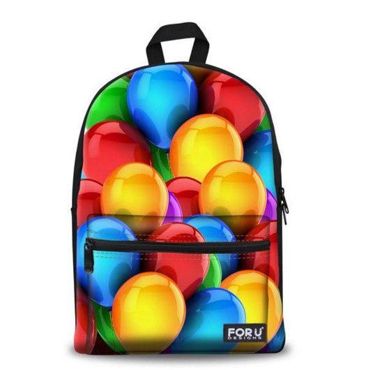 Baťoh s moderním potiskem balonky – baťohy Na tento produkt se vztahuje nejen zajímavá sleva, ale také poštovné zdarma! Využij této výhodné nabídky a ušetři na poštovném, stejně jako to udělalo již velké množství spokojených …