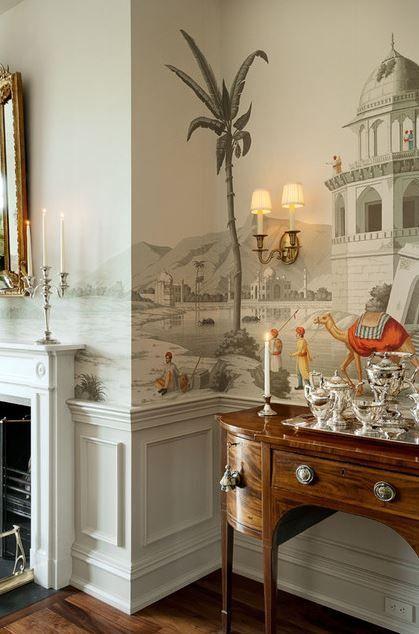 352 besten VORHÄNGE \ WANDGESTALTUNG Bilder auf Pinterest - wandgestaltung esszimmer