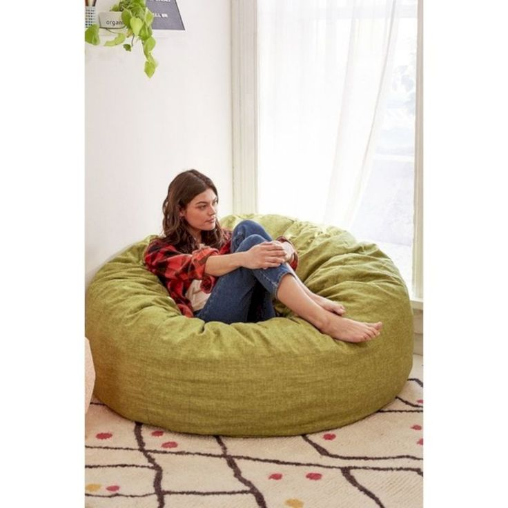 nice 57 Oversized Bean Bag Chairs to Makes Your Room Cozier  http://about-ruth.com/2017/11/06/57-oversized-bean-bag-chairs-makes-room-cozier/