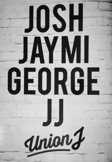 Union J Josh JJ Jaymi George