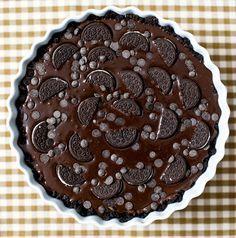 TARTA DE OREO SIN HORNO Para la base de la tarta: 300 g de Galletas Oreo…