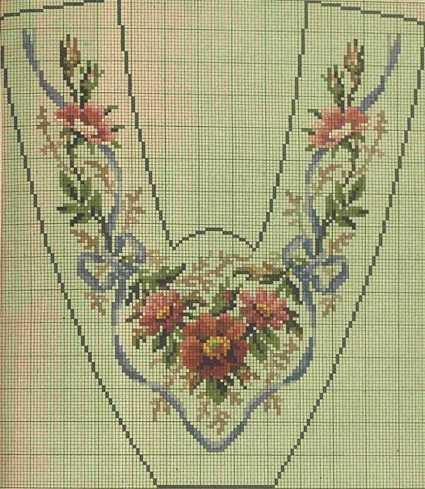 Старинные схемы вышивки крестом: практика для новичков 21