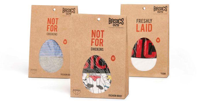 Inner-wear Packaging for Basics 029