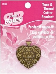 Amazon.com: Susan Bates Yarn and Thread Cutter Pendant: Arts, Crafts & Sewing