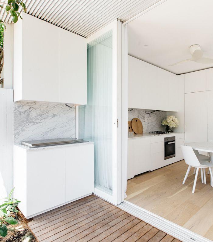 indoor outdoor kitchen | cm studio