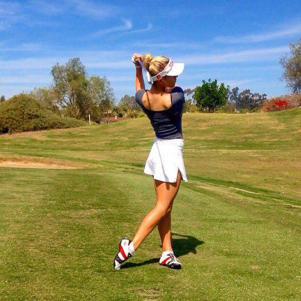 Paige is golf's sexy new game changer (20 Photos) : theCHIVE