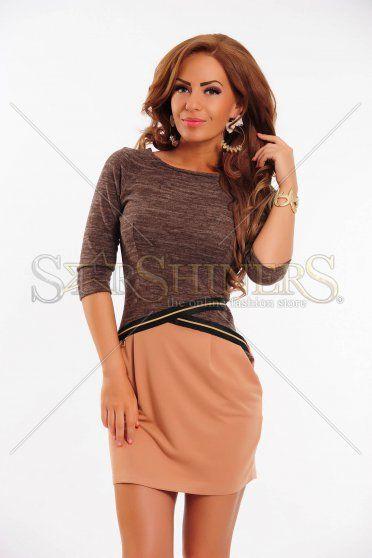 Rochie MissQ Distinct Touch Brown