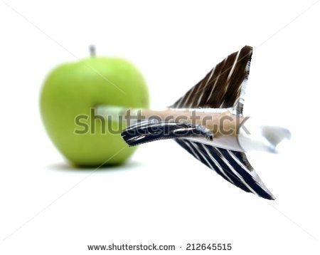 direct hit - stock photo