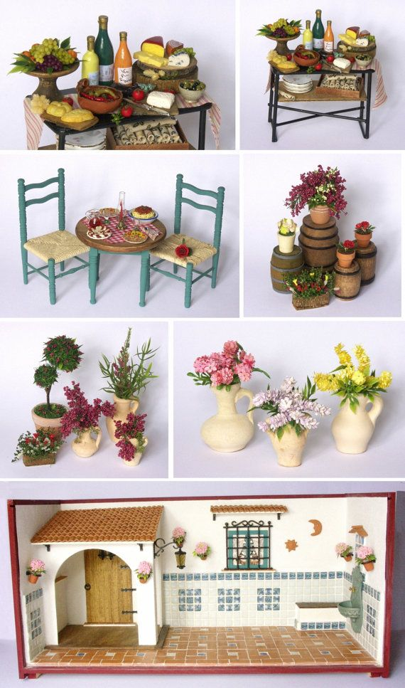 Miniature Children S Bedroom Room Box Diorama: 140 Best 01. Mini Room Boxes & Scenes Images On Pinterest
