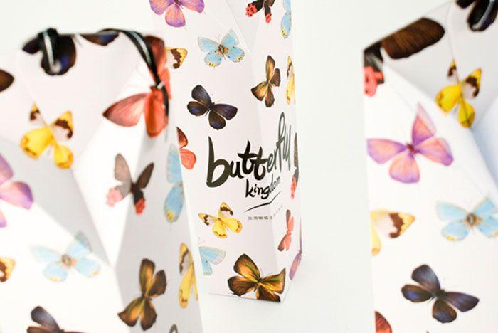 Butterfly Kingdom TaiwanTea - The Dieline -