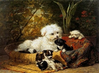 Henriette Ronner-Knip,  Dutch Painter (1821-1909)