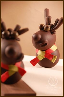 Chocolate sculpture -Stephane Leroux