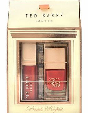 Ted Baker London Peach Perfect 10177841 32 Advantage card points. This Ted Baker London Peach Perfect Lip and Nail Duo is the perfect stocking filler for beauty fans! The pretty box contains a gorgeous peach lip gloss and a stunning nail po http://www.comparestoreprices.co.uk/christmas-gifts/ted-baker-london-peach-perfect-10177841.asp