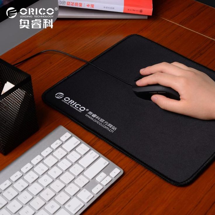 [Visit to Buy] ORICO MPS3025-BK Natural Rubber Cloth Home Office Game Mouse Pad Thick 5mm Durable Beautiful #Advertisement