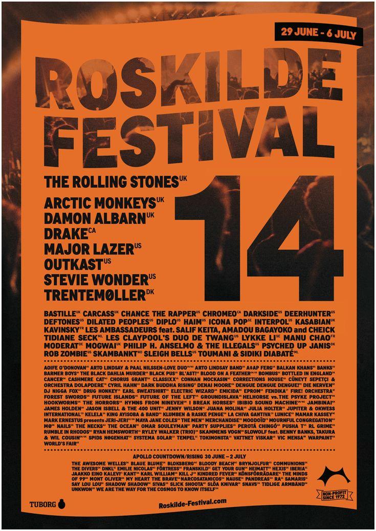 Roskilde Festival 2014 Lineup