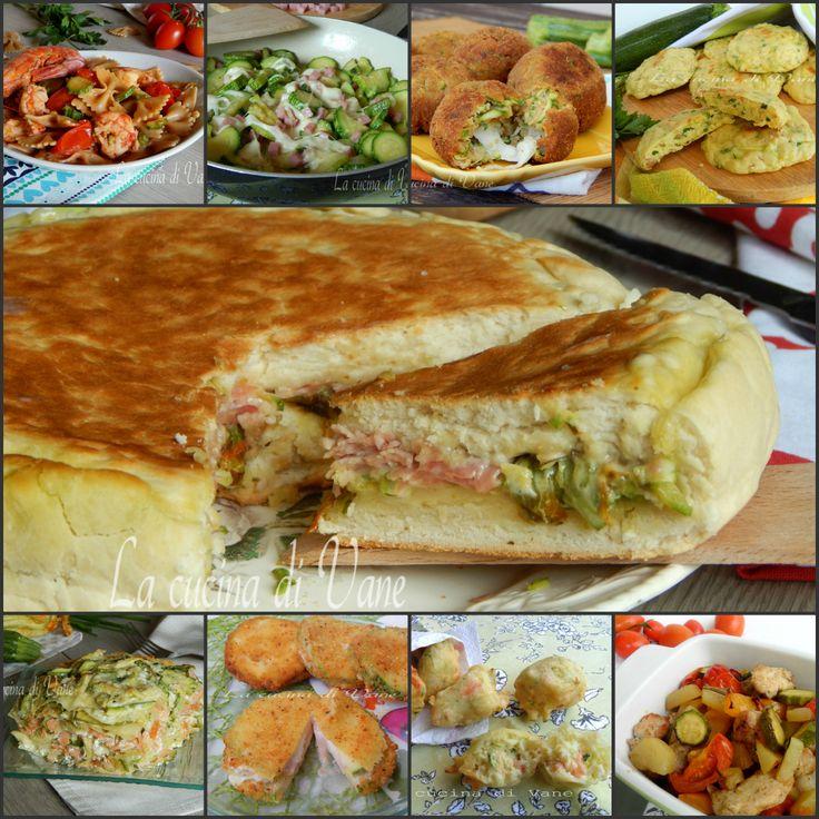 Zucchine:  dieci ricette facili e gustose