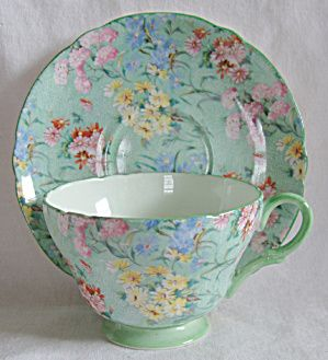 Beautiful teacup and saucer