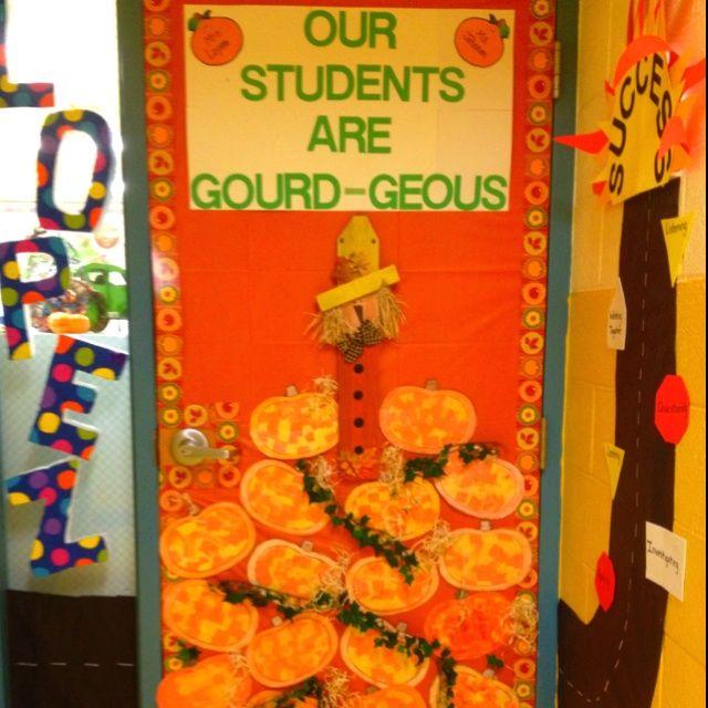 Best 25 fall classroom door ideas on pinterest for Autumn classroom door decoration ideas