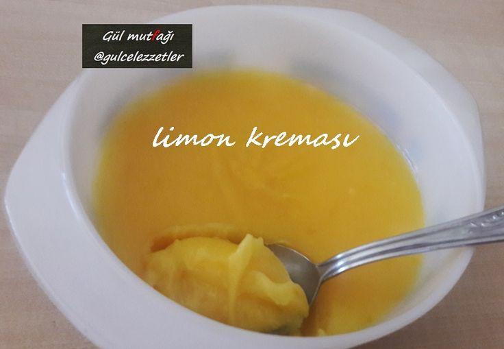 limon kreması,limon sosu