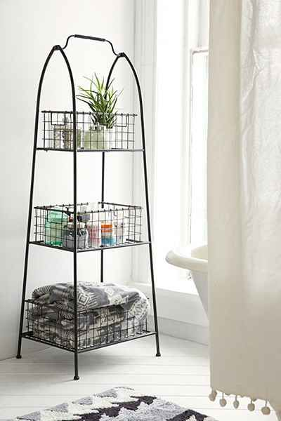 Tiered Wire Storage Shelf - Urban Outfitters