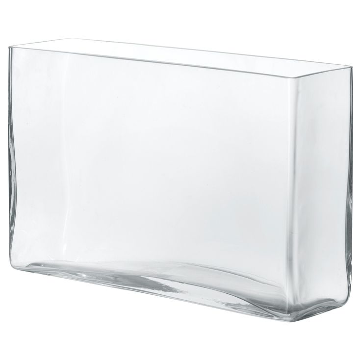 REKTANGEL Vase from Ikea to store kitchen utensils on the counter