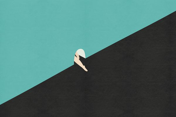 exit by kim do young, via Behance