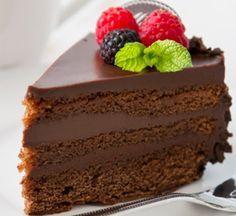 Me Encanta el Chocolate: INCREIBLE TORTA DE CHOCOLATE Y QUESO