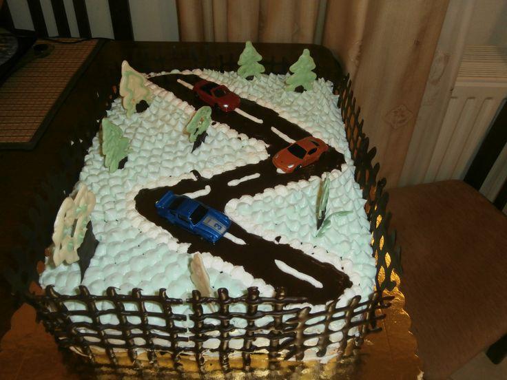 Χειροποίητη τούρτα απο την Αννέτα.