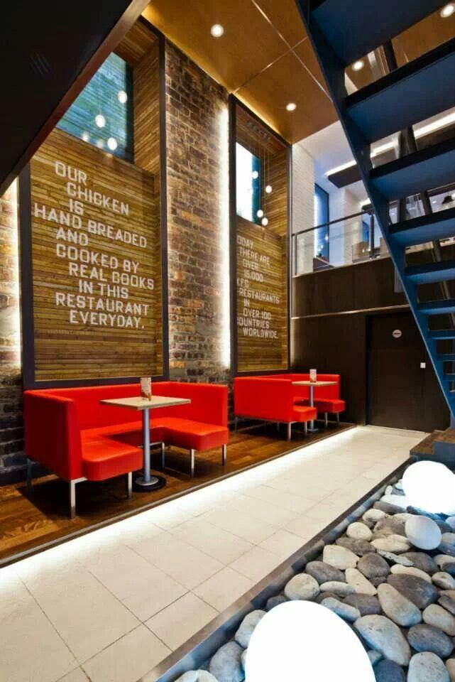 Fast food restaurants interior design - photo#20