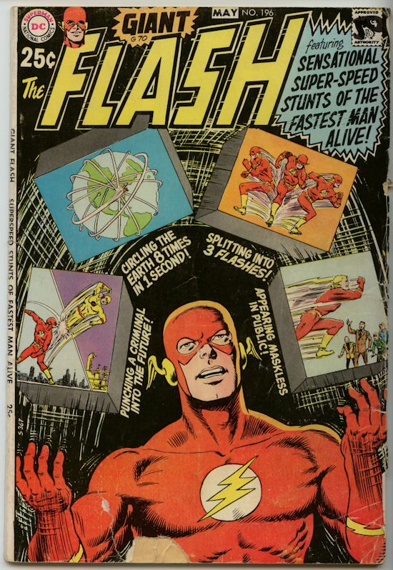 the flash comic book photos | the flash comic 196 the flash comic 196 featuring sensational super ...