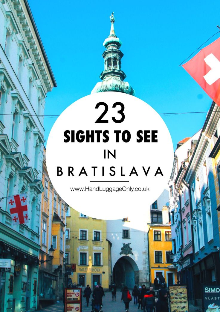 23 Sights You Have To See in Bratislava!