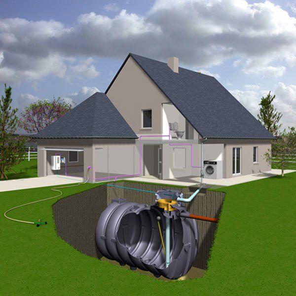 8 best images about Énergies renouvelables on Pinterest Blog - recuperation eau de pluie maison