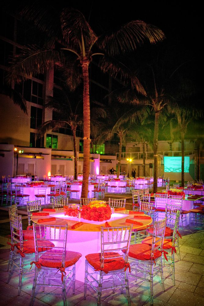 Boca Beach Club Rehearsal Dinner At The Cabana Pool Deck Photo Credit Jeff Kolodny