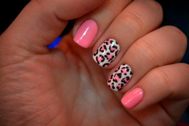 Розовый леопард)