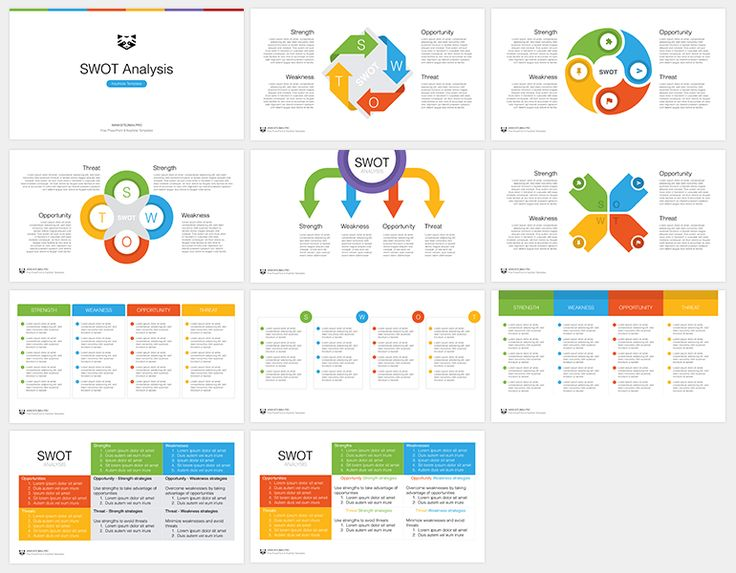 Download: http://site2max.pro/swot-free-keynote-template/ SWOT free Keynote template #swot #analisys #template #free #freebies #keynote #key