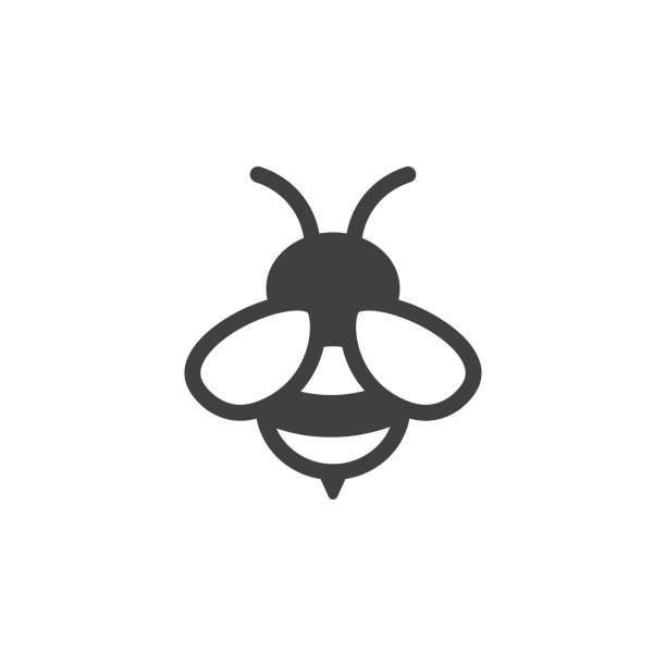 Bee Icon Bee Icon Bee Illustration Bee Drawing