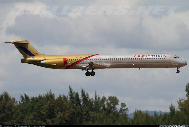 Orient Thai Airlines HS-MDI McDonnell Douglas MD-81 (DC-9-81) aircraft picture