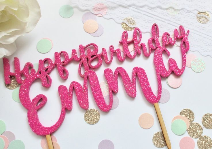 Personalise your cake with a wooden plywood. They can be glittered on the front and back to a colour of your choice or choose a natural wood...