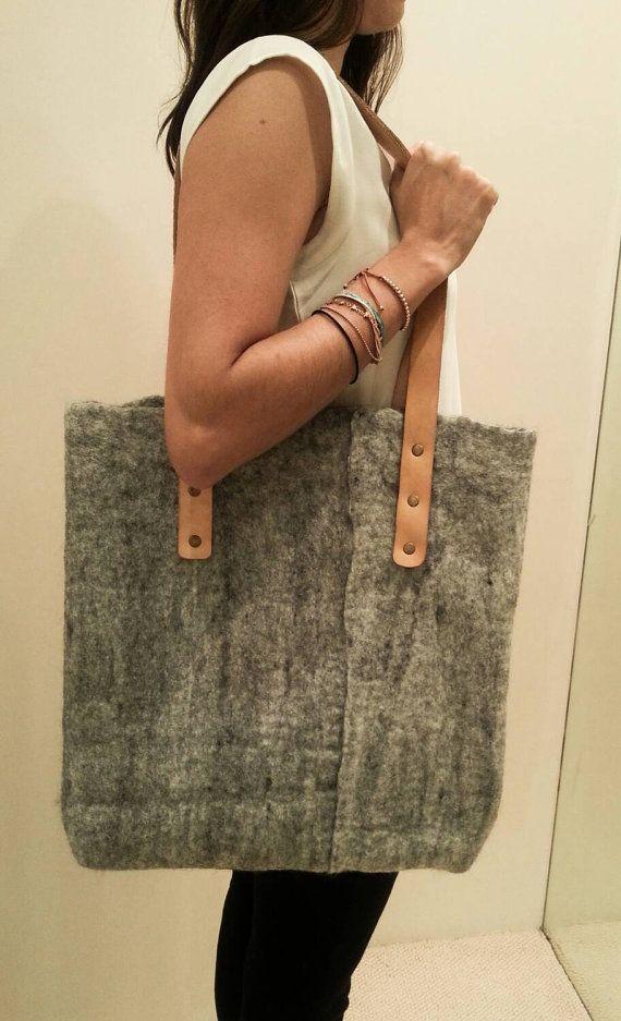 Felted Handbag by Caramel