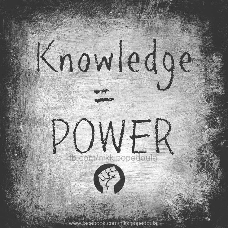 Doula | Birth | Knowledge = Power | Quote  www.facebook.com/nikkipopedoula