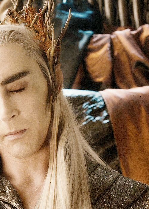 I Loved Thranduil And His Amazing Eyelashes
