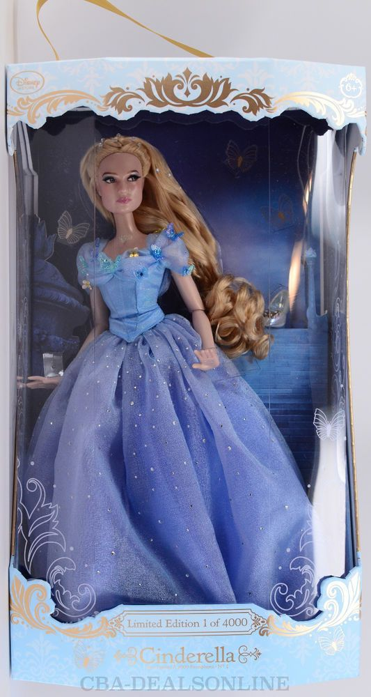 New Disney Store 2015 17 Quot Cinderella Doll 2015 Live Action