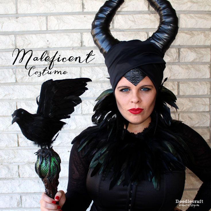 how to make maleficent costume