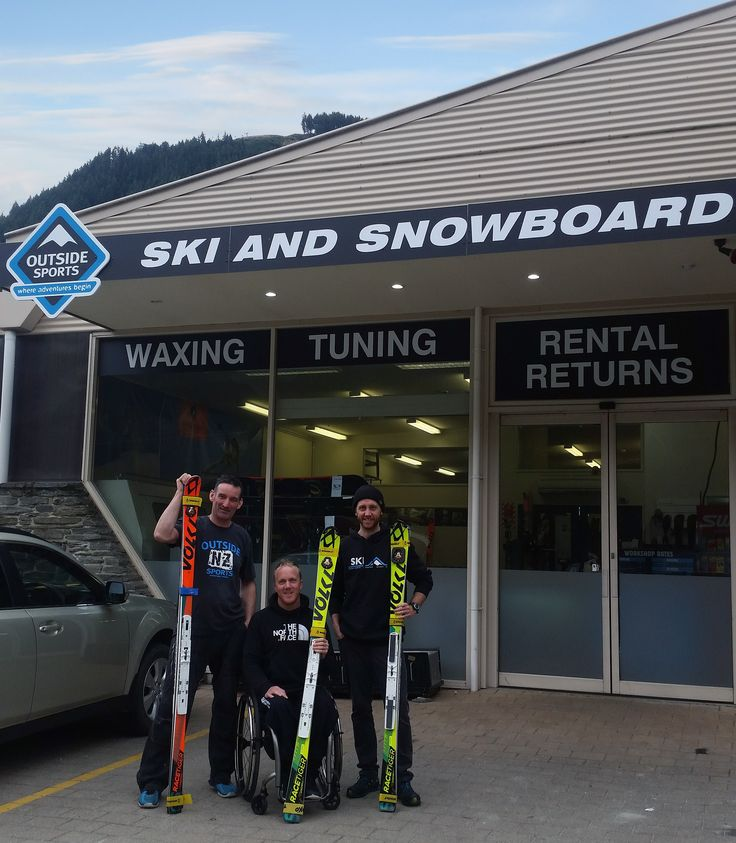 WORLD CHAMPION IN QUEENSTOWN SKI & SNOWBOARD WORKSHOP Double World Champion and Winter Paralympic Silver Medallist, Corey Peters from the New Zealand Paralympic Ski Team, has been getting his skis tuned with the Queenstown Outside Sports Ski and Snowboard Workshop. Read More: https://www.outsidesports.co.nz/blog/post/118/world-champion-in-queenstown-ski-and-snowboard-workshop.html