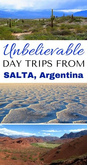 3 Easy Day Trips from Salta Argentina Filled with Incredible Landscapes! // Day trip to Cachi, Cafayate, and Jujuy.