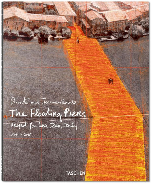 In a book, Christo and his Floating Piers