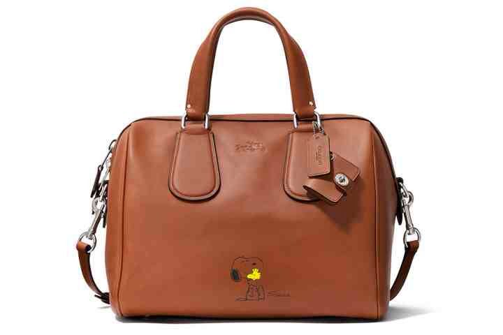 New line by Coach featuring Snoopy & Woodstock