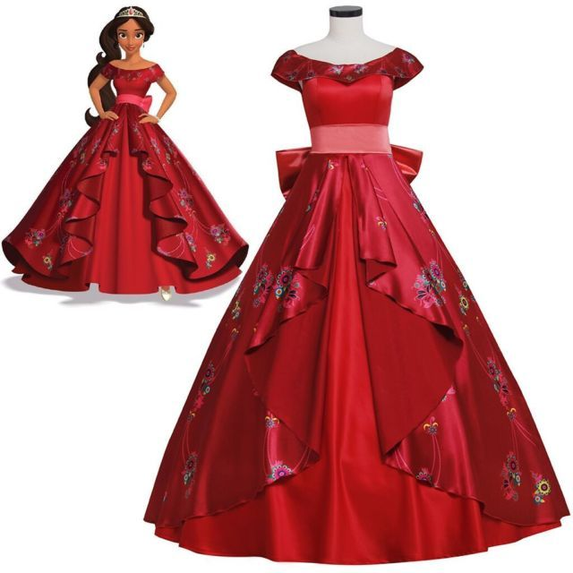 Elena of Avalor Elena Princess Dress Adult Ball Gown Prom Dress Costume Cosplay