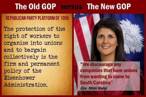 The NEW GOP IS AGAINST NEARLY EVERYTHING for which they used to stand. Please, make sure you know  what GOP stands for.